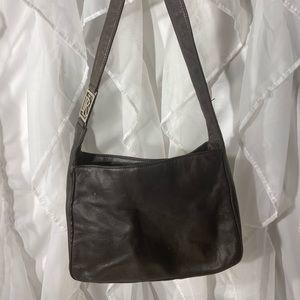 Ralph Lauren shoulder bag dark brown